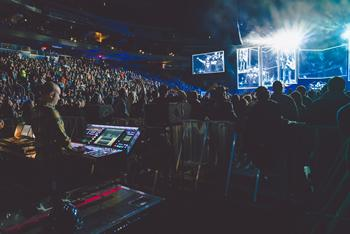 Avenged Sevenfold, from FOH. (photo by Rafa Alcantara)