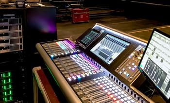 One of four SSL L200 consoles in-situ at Patronaat, Haarlem.