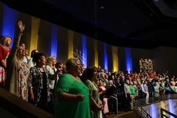 Voices are the focus of the music at Southcrest.